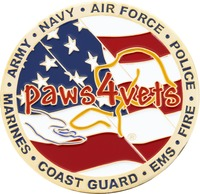 Heroes First Paws 4 Vets - Back