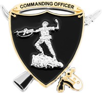 Basic School Commanding Officer - Back