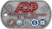 ADP Military Strong And Allies - Front