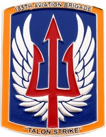 185th Aviation Brigade Talon Strike - Front