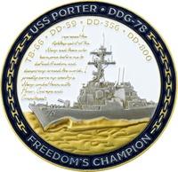 USS Porter DDG - 78