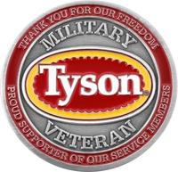 Tyson Military Veteran - Front