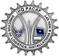 HQ PACAF Airforce - Front