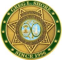 Coroner Greg L. Shore - Front
