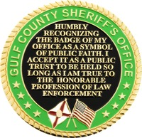 Gulf County Sheriff's Office - Back