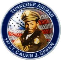 1st Lt. Calvin J. Spann - Front